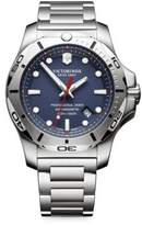 Victorinox Inox Pro Diver Blue Dial Stainless Steel Bracelet Watch
