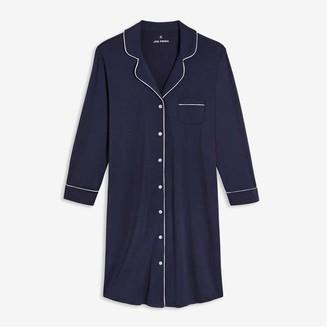 Joe Fresh Women's Nightshirt Chemise, Dark Navy (Size XS)