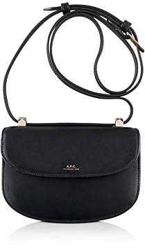 A.P.C. Geneve Mini Leather Shoulder Strap