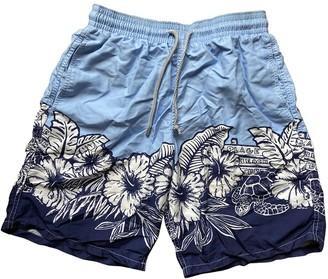 Vilebrequin Blue Cotton - elasthane Swimwear