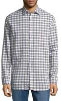 Billy Reid John Plaid Button-Down Shirt