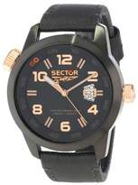 Sector Unisex R3251202025 Urban Oversize Analog Stainless Steel Watch