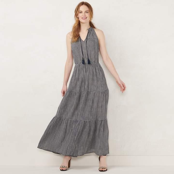 Lauren Conrad NEW! Women's Sleeveless Maxi Dress