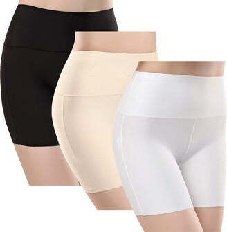 TRISTIN Women Anti-Chafing Boxer Shorts Soft Boyshorts Comfortable Seamless Stretch Slip Shorts for Under Dresses
