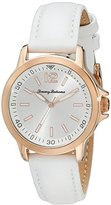 Tommy Bahama Women's 10018342 Island Breeze Stainless Steel Watch with White Leather Band
