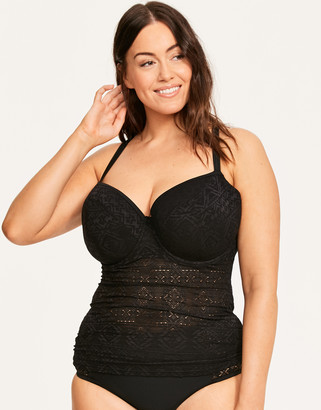 Curvy Kate Rush Multiway Padded Balcony Tankini