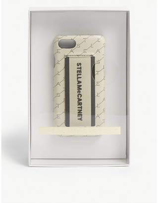 Stella McCartney Logo strap iPhone case