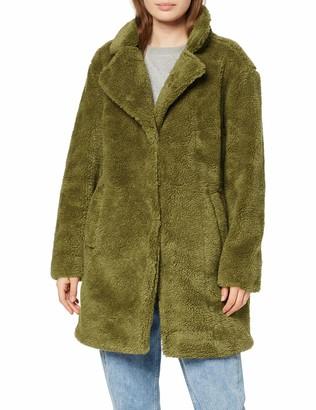 Urban Classics Women's Ladies Oversized Sherpa Coat