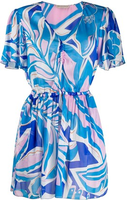 Emilio Pucci printed short beach dress