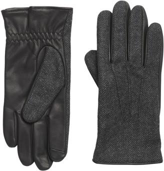 Banana Republic Herringbone Leather Glove