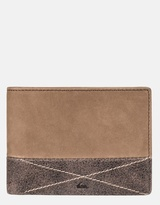 Quiksilver Mens New Classic Plus Leather Wallet