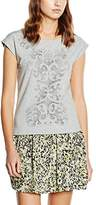 Morgan Women's 161-DAJOUR.N Plain Short Sleeve T-Shirt