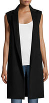 Theory Essential Open-Front Long Vest