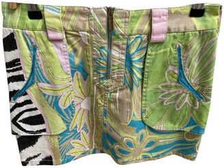 Roberto Cavalli Multicolour Cotton Skirt for Women