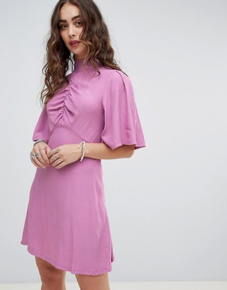 Free People Be My Baby skater mini dress