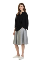 Country Road Cape Sleeve Tunic