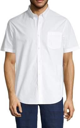 Vince Single Pocket Short Sleeve Sport Shirt