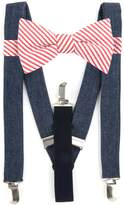 Men's Bow Tie Tuesday Pre-Tied Bow Tie & Suspenders Set