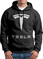 Rob-ert ROBERT Simple Tesla Motors Logo Mens Pullover Athletic Hoodie L