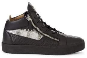 7fd1814c1bc2b Giuseppe Zanotti Silver Shoe For Men | over 100 Giuseppe Zanotti ...