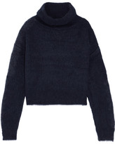 Carven Knitted Turtleneck Sweater - Navy