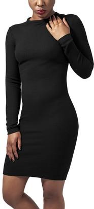 Urban Classics Women's Ladies Rib Dress