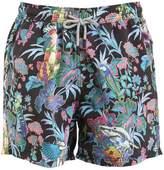 Etro Surreal Printed Swim Shorts