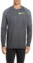Nike Men's Pro Hyperwarm Hexodrome Training Top