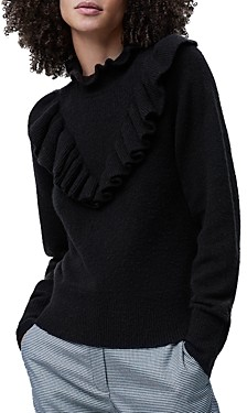 French Connection Mira Ruffled Sweater