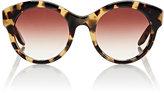 Barton Perreira Women's Isadora Sunglasses-BROWN, NO COLOR