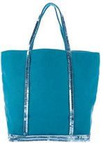 Vanessa Bruno Sequin-Embellished Canvas Tote