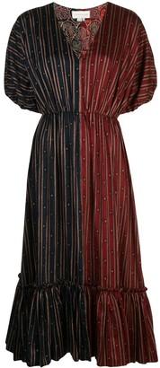 Sachin + Babi Cassandra colour-block dress