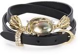 Alexis Bittar Studded Golden Array Wrap Bracelet