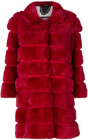 Simonetta Ravizza bevelled fur coat - women - Silk/Mink Fur - 40