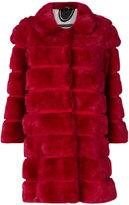 Simonetta Ravizza bevelled fur coat - women - Silk/Mink Fur - 44
