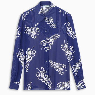 Prada Feather printed shirt