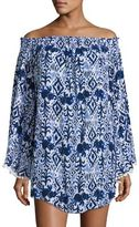Lilly Pulitzer Nita Off-The-Shoulder Coverup