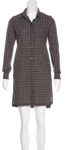 Billy Reid Button-Up Mini Dress