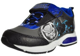 The Avengers Black Panther Active Athletic Lighted Shoes