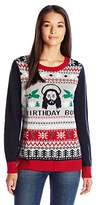 Ugly Christmas Sweater Women's Birthday Boy