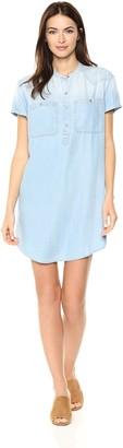 Calvin Klein Jeans Women's Lyocell Popover Dress