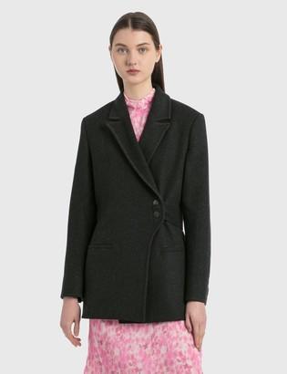 Ganni Outerwear Wool Jacket