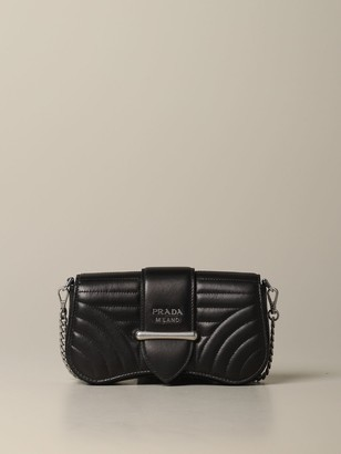 Prada Sidonie Bag In Quilted Nappa