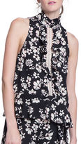 Tracy Reese Floral-Print Sleeveless Top