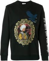 Les Benjamins embroidered sweatshirt