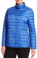 BASLER PLUS Reversible Outdoor Graphic Quilted Jacket
