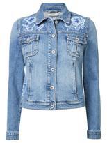 Jeanswest Fina Embroidered Denim Jacket-Light Wash-6