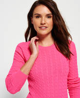 Superdry Summer Luxe Mini Cable Knit Sweater