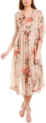 Stellah Lace Midi Dress