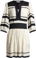 Etoile Isabel Marant Ramsey V-neck gauze dress